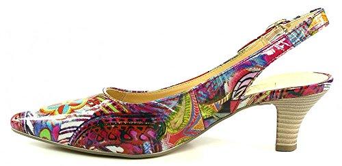 Gabor 21.550.95 Womens Sling Multicoloured 4SMDkDGUT