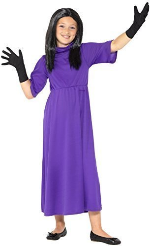 Girls Official Head Witch Roald Dahl Witches World Book Day Week Halloween Scary Fancy Dress Costume Outfit (4-6 Years) ()