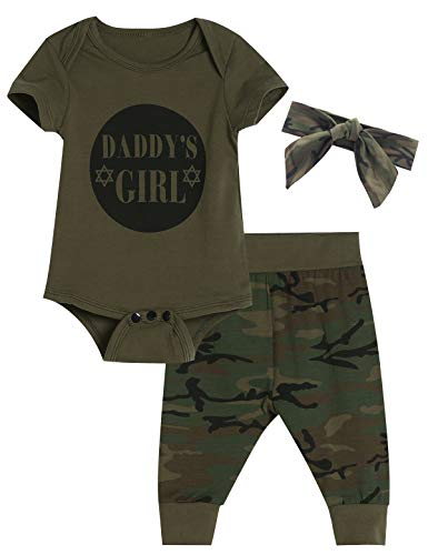 How to buy the best baby girl outfits 0-3 months camo?