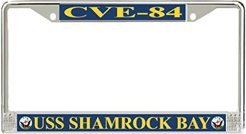 Shamrock Bay - MilitaryBest USS Shamrock Bay CVE-84 License Plate Frame