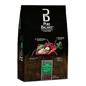Natural Balance Dog Food Coupons >> Amazon.com: Pure Balance Lamb & Brown Rice Recipe Food for Dogs 30lbs: Pet Supplies