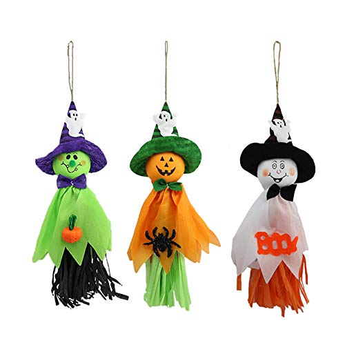 Ghost Windsock Halloween Party Decoration Hanging, Spook Pumpkin