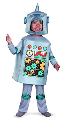 Disguise Artsy Heartsy Retro Robot Costume