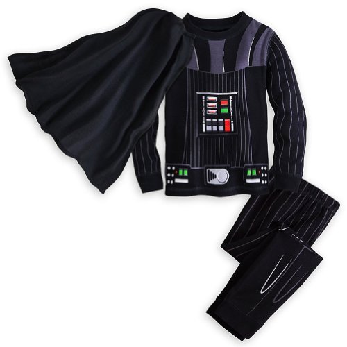 Star Wars Darth Vader Costume PJ PALS Pajamas for Boys Size 5 Black]()