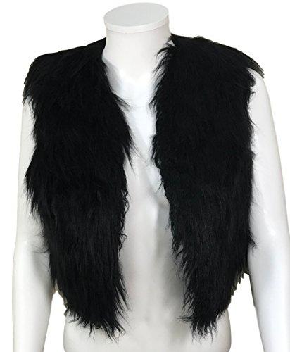 Cropped Fur Vest - 1