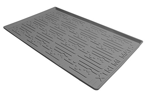 Xtreme Mats Under Sink Bathroom Cabinet Mat, 24 5/8 x 18 7/8, Grey