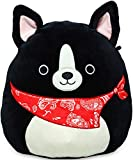 "Squishmallow Kellytoy 2020 Mini 5"" Black Dogs Set 2"