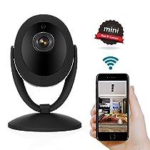 NexGadget 1080p Home Wireless Camera IP Security Surveillance System Black