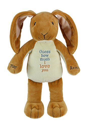 (Kids Preferred Guess How Much I Love You Nutbrown Hare Recordable Plush, 12)