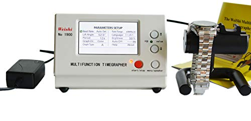 OTOOLWORLD New Coaxial MTG Watch Tester Timing Multifunction Timegrapher LCD Screen NO.1900 ()