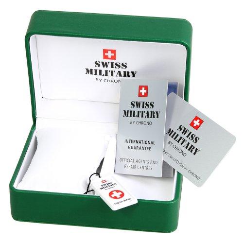 Schweizisk militär herrklockor SM34039.01