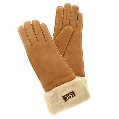 UGG Australia Women's Classic Turn Cuff Glove,Chestnut,US M