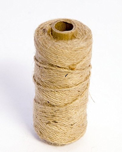 1 Roll Oasis Mossing Jute Twine String Tie 75m ( All sizes All Colours ) (1 Roll, Natural) Oasis Smithers