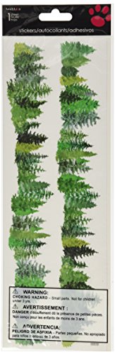 Sandylion Horizon Border Stickers, Evergreen ()