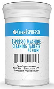 Espresso Machine Cleaning Tablets - CleanEspresso Model BR-020 - For Breville Espresso Machines by Exceptional Life Products