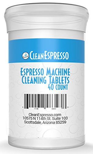 Espresso Machine Cleaning Tablets - CleanEspresso Model BR-040 - For Breville Espresso Machines (Silvia Pod)