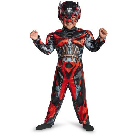Transformers Movie 4 Stinger Toddler Muscle Dress Up Costume Size 2T  sc 1 st  Amazon.com & Amazon.com: Transformers Movie 4 Stinger Toddler Muscle Dress Up ...