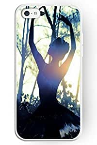 SPRAWL Hard Skin Case Cover Dacing Spirit Series Iphone 5C Case -- Dancing in the Sun