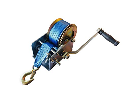 Professional EZ Travel Collection Jet Ski Trailer Winch (3200 lbs Rated) (Best Rated Jet Ski)