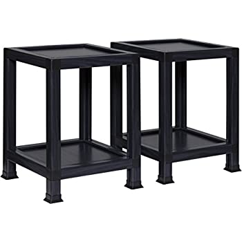 Amazon Com Ameriwood Home Parsons End Table With Drawer