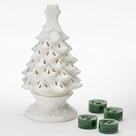 Image Unavailable. Image not available for. Color: Yankee Candle Balsam &  Cedar Christmas Tree ... - Amazon.com: Yankee Candle Balsam & Cedar Christmas Tree Luminary Tea