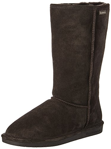 Bearpaw Women's Emma 12 Fur Trimmed Boot Brown (Chocolate Ii 205)