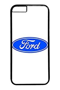 iPhone 5 5s Case - Scratch-Resistant Protective Case Bumper for iPhone 5 5s Ford Car Logo 3 Perfect Fit Black Hard Back Cover Cases for iPhone 5 5s es