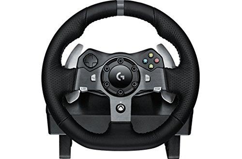 Logitech 941-000122 Ruedas + Pedales PC,Xbox One Negro mando y volante -