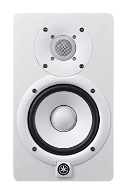 Yamaha HS5 Powered Studio Monitors Pair WHITE w/XLR Cables - Bundle from YAMAHA