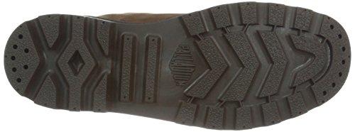 Palladium Pampa Cuff WP Lux - Botas de Combate Hombre Chocolate