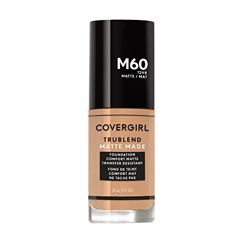 The Natural Matte Foundation (Covergirl Trublend Matte Made Liquid Foundation, M60 Natural Beige, 1.014 Ounce)