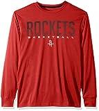 Ultra Game NBA Houston Rockets Mens Active Long