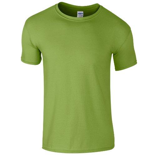 Gildan Men's Softstyle Ringspun T-shirt - X-Large - Kiwi -