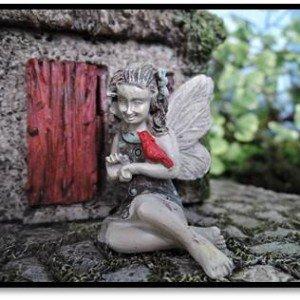 Gardens Fairy Cardinal Miniature Gardening