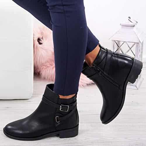 Cucu Compensées Noir Fashion Femme Sandales EwZr7qUw8W