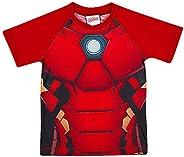 Camiseta Praia Manga Curta Avengers, TipTop
