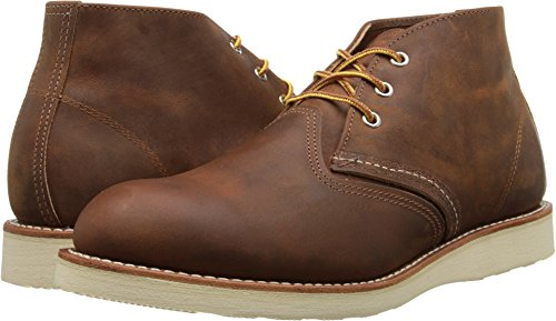 Red Wing Men's Heritage Work Chukka Boot, Copper Rough And Tough, 10.5 D(M) US (Red Wing Boots Cream)