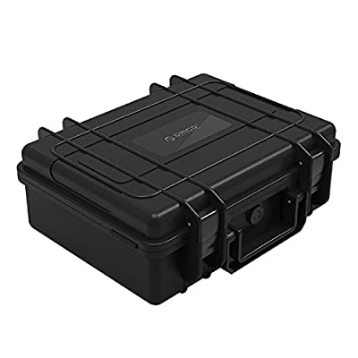 "ORICO External Hard Drive Case, 20-Bay Multi-Protection HDD Storage Box Carrying Case for 3.5"" HDD/SSD Briefcase from ORICO Technologies Co.,Ltd"