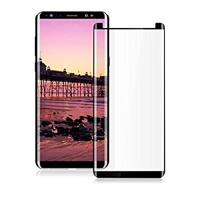 Galaxy Note 8 Screen Protector,3D Curved Tempered Glass Screen Protector for Galaxy Note 8,Anti-Scratch Bubble-Free Original Touch Sensor Tempered Glass