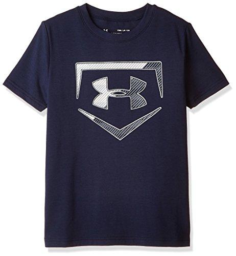 Under Armour Boys' Baseball Logo Short Sleeve Tee – DiZiSports Store