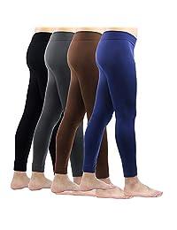 La Dearchuu Size S-L Long Johns Men Thermal Underwear Bottom Mens Warm Winter Base Layer