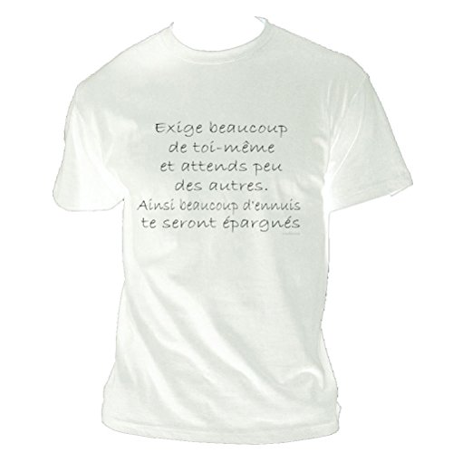 confucius-citation-white-tee-shirt-m-white