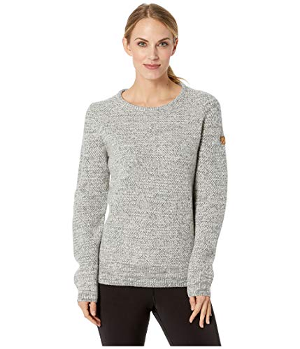 Fjallraven - Women's Ovik Structure Sweater, Egg Shell-Grey, XL