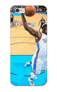 Fireingrass Iphone 6 Plus Well-designed Hard Case Cover Oklahoma City Thunder Basketball Nba Protector For New Year's Gift