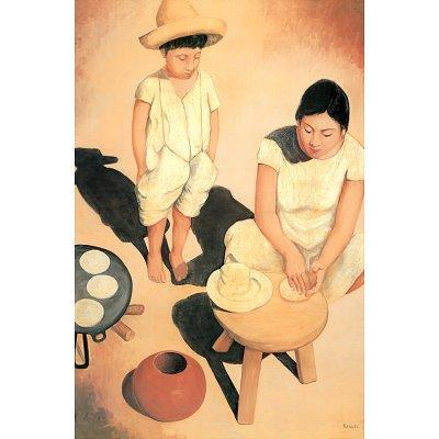 Frank Kessel Tortilla Woman Art Poster Print