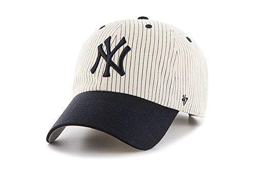 '47 Brand Clean Up New York Yankees Pinstripe Home Run Two Tone Adjustable Cap -