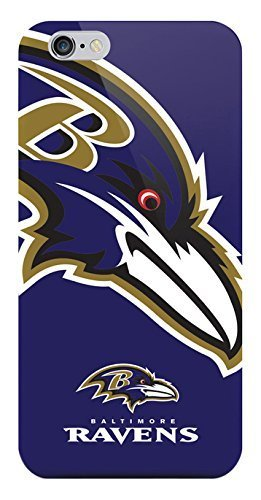 Baltimore Ravens Team Button - NFL Baltimore Ravens Sports XL TPU Case for iPhone 6