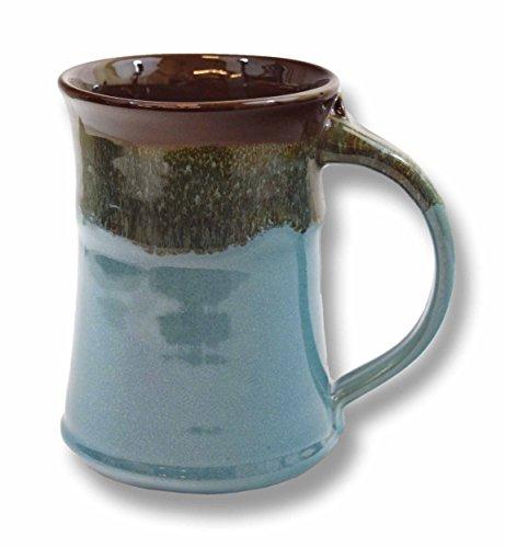 Clay in Motion Handmade Ceramic Large Mug 20oz - Ocean Tide