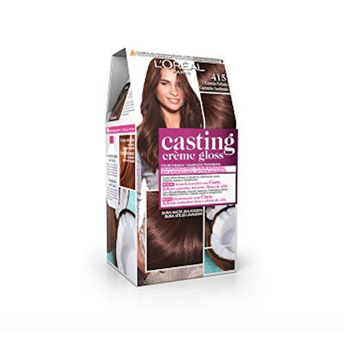LOreal Casting Crème Gloss Crema Casting Tinte Creme Gloss N.415 Castaño Helado. - 1 unidad