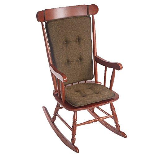 (Klear Vu Embrace Rocking Chair Pads Set, Chocolate)